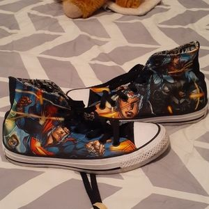 DC Universe High Top Converse